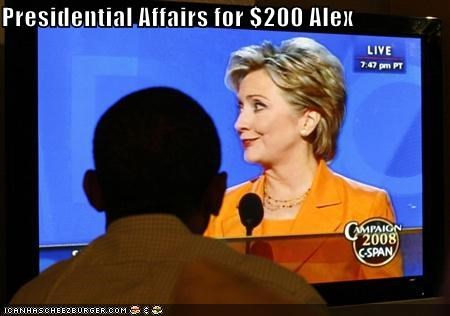 Presidential Affairs for $200 Alex