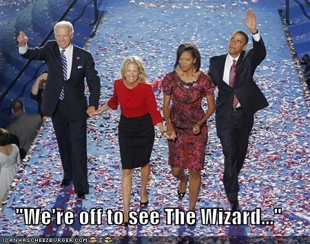 """We're off to see The Wizard..."""