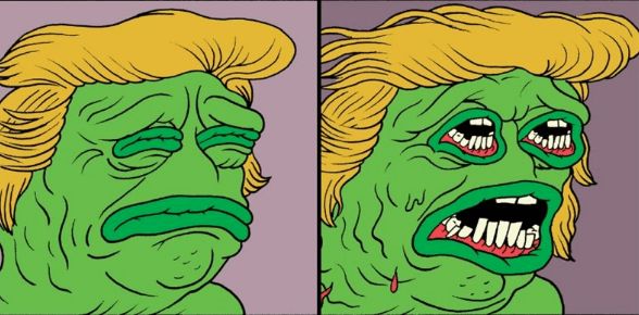 Funny clone comics: The Creator of Pepe the Frog Drew a Horrific Comic to Work Through His Feelings About Alt-Right Pepe