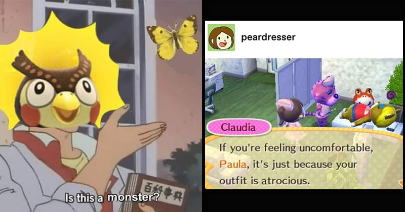 Animal Crossing Memes In Honor Of The Game S Release On Switch Memebase Funny Memes