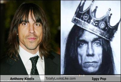 Anthony Kiedis TotallyLooksLike.com Iggy Pop - Cheezburger ...