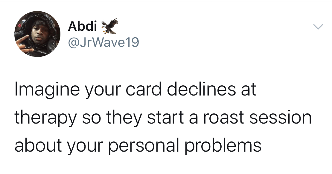 'Imagine Your Card Declines' Twitter Meme Is Packed With Amusing Absurdity