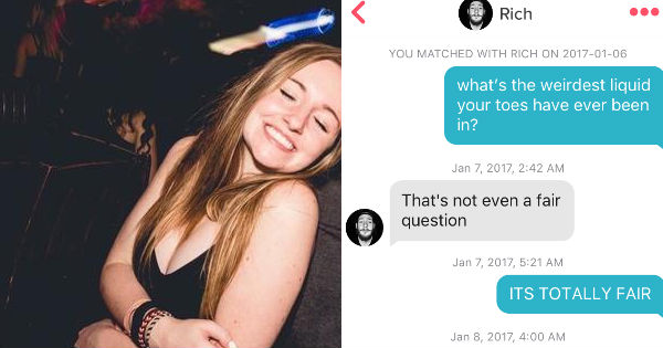 What is dirty tinder