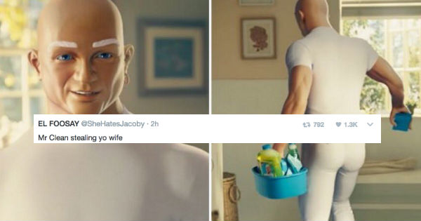 people are feeling all kinds of dirty after mr clean super bowl commercial fail blog funny fails