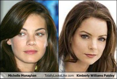 Michelle Monaghan Totally Looks Like Kimberly Williams