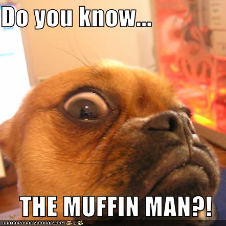 Do You Know The Muffin Man Cheezburger Funny