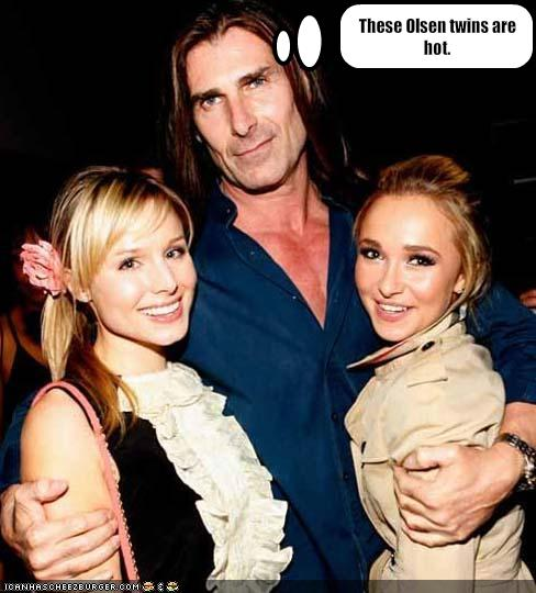 These Olsen Twins Are Hot Cheezburger Funny Memes Funny Pictures