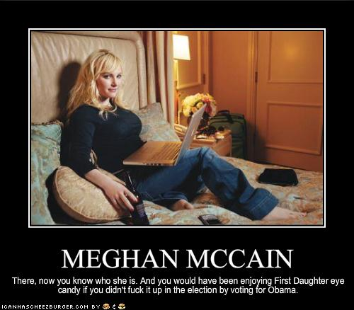 Meghan Mccain On The View Monday: MEGHAN MCCAIN - Cheezburger - Funny Memes