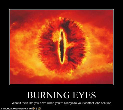 Burning Eyes Cheezburger Funny Memes Funny Pictures