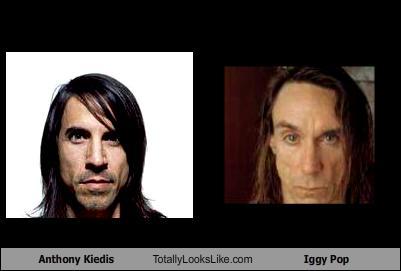 Anthony Kiedis Totally Looks Like Iggy Pop - Cheezburger ...