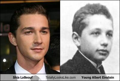 Shia LaBeouf Totally Looks Like Young Albert Einstein ...