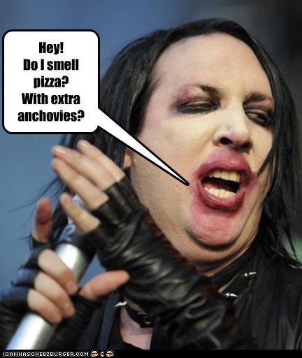 Hey Do I Smell Pizza With Extra Anchovies Cheezburger Funny