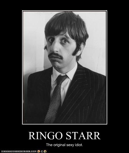 RINGO STARR - Cheezburger - Funny Memes | Funny Pictures