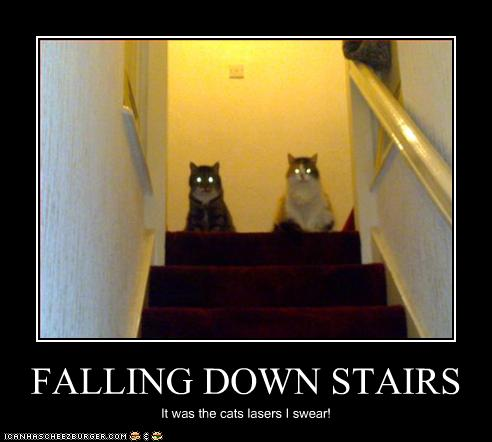 FALLING DOWN STAIRS - ...