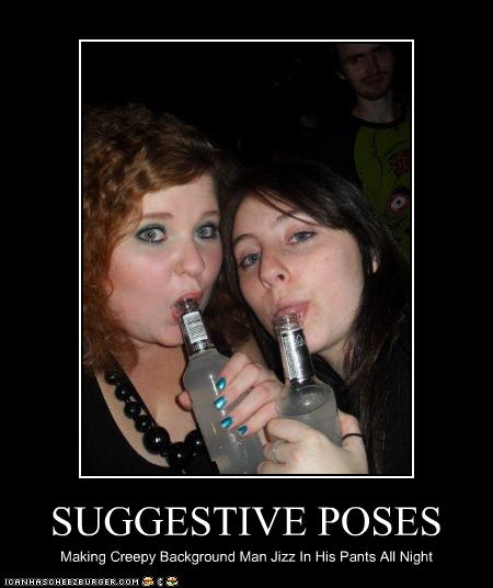 suggestive poses - cheezburger