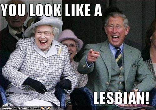 Look lesbian