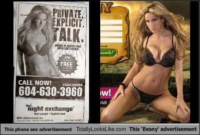 This phone sex advertisement Totally Looks Like This 'Evony