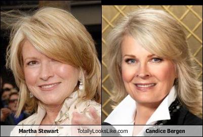 Martha Stewart Totally Looks Like Candice Bergen