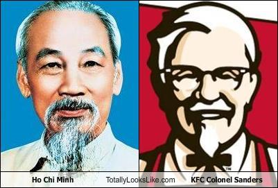 Ho Chi Minh Totally Looks Like KFC Colonel Sanders