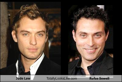 jude law totally looks like rufus sewell cheezburger