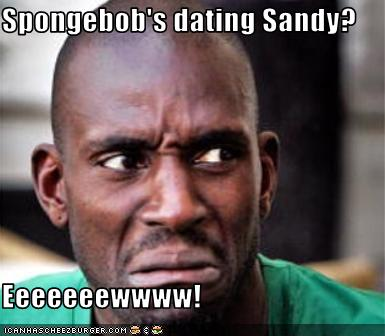 Gör SvampBob dating Sandy
