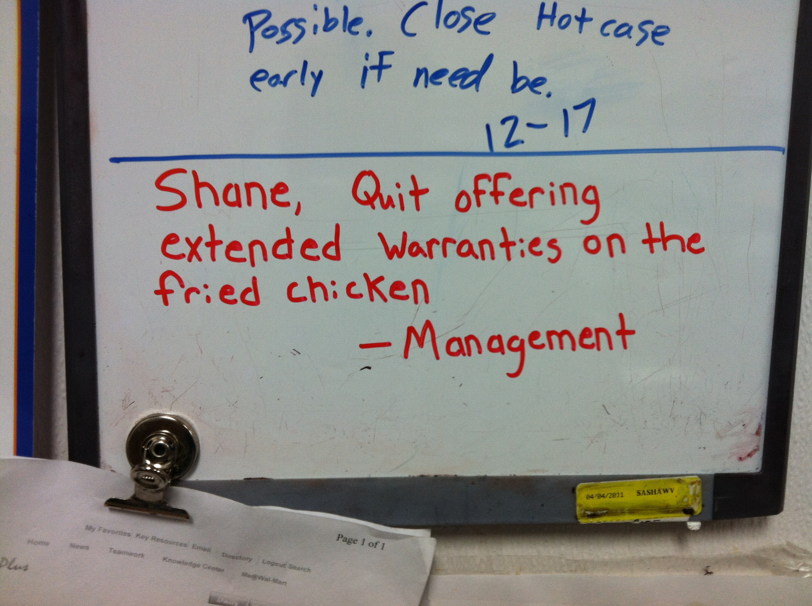 meet shane, the walmart deli employee who gives his managers a major