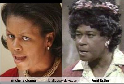 Michelle obama aunt esther