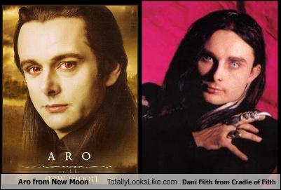 Aro From New Moon Totally Looks Like Dani Filth From Cradle Of Filth