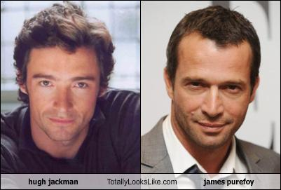 James Purefoy Hugh Jackman