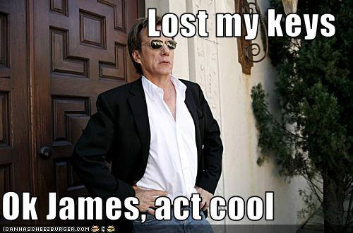 Lost My Keys Ok James Act Cool Pop Culture Funny Celebrity Pictures