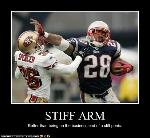 Stiff Arm Cheezburger Funny Memes Funny Pictures