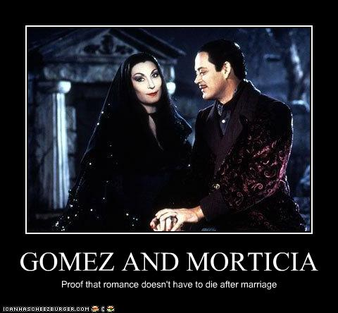GOMEZ AND MORTICIA - Cheezburger - Funny Memes | Funny ...