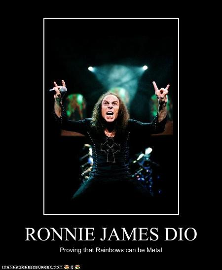 Ronnie James Dio Cheezburger Funny Memes Funny Pictures