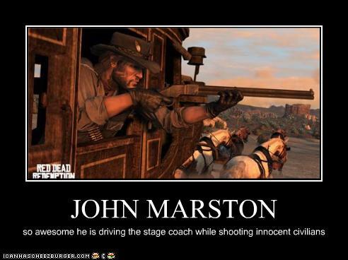 John Marston Cheezburger Funny Memes Funny Pictures