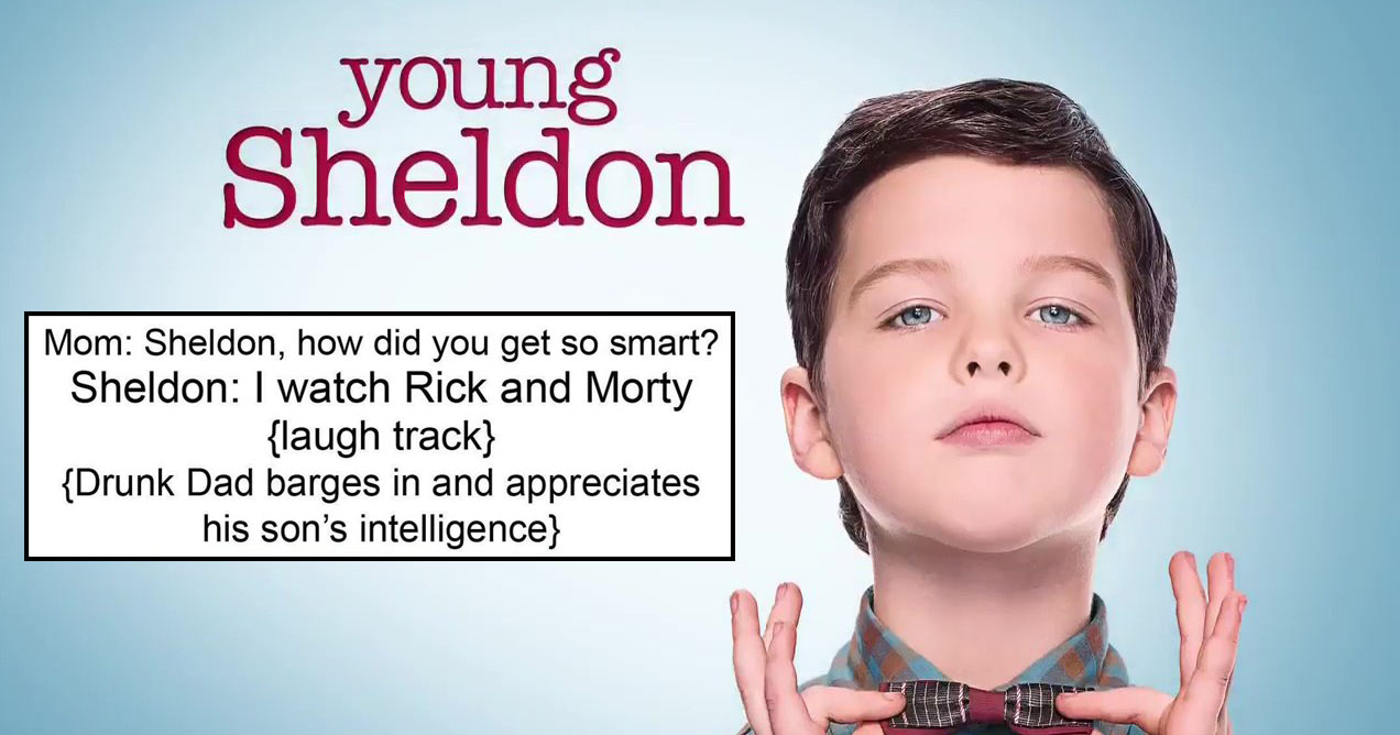reddit is tearing 'young sheldon' apart with brutal memes