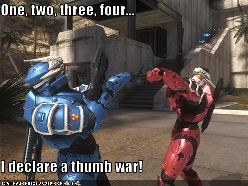Thumb war dating