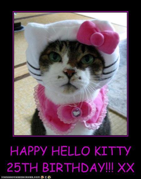 HAPPY HELLO KITTY 25TH BIRTHDAY!!! XX