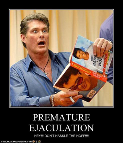 The point premature ejaculation demotivational