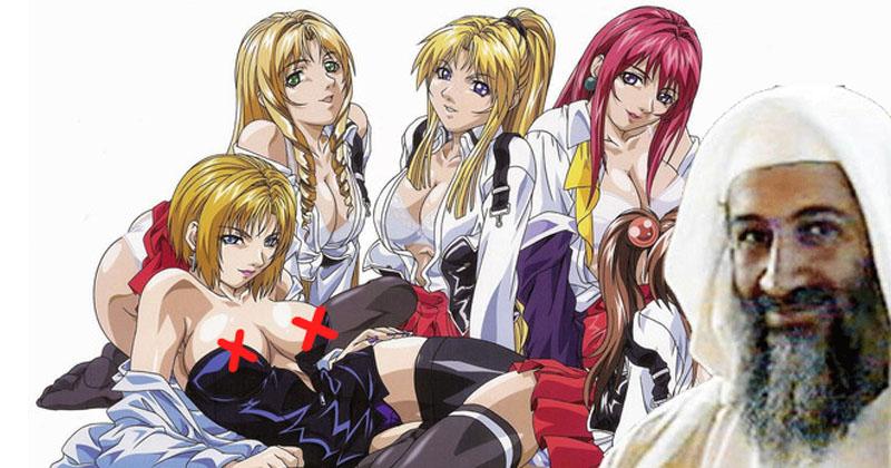 breaking news  osama bin spankin u0026 39  it to anime tiddies - memebase