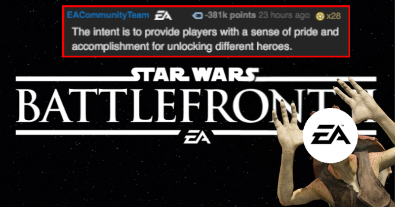 ea causes an internet uproar over horribly handled microtransactions