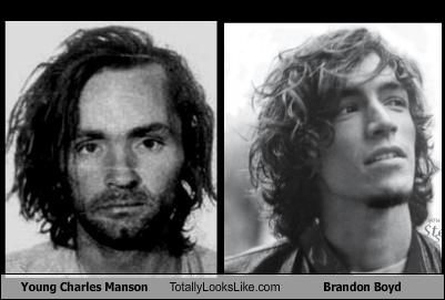 Young Charles Manson Totally Looks Like Brandon Boyd