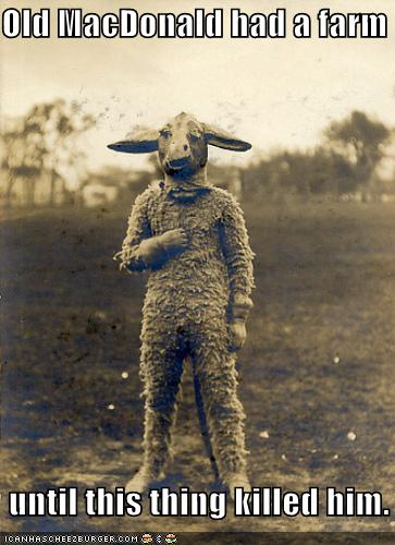 Free Dating Sites >> Old MacDonald had a farm until this thing killed him. - Historic LOLs - funny pictures history