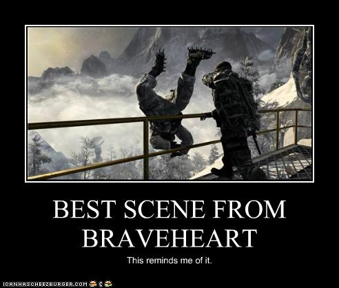 Best Scene From Braveheart Cheezburger Funny Memes