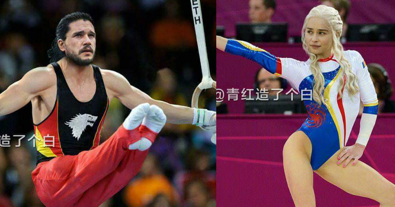 If Game of Thrones Characters Competed in the Olympics