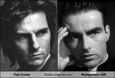 Tom Cruise Totally Looks Like Montgomery Clift Totally