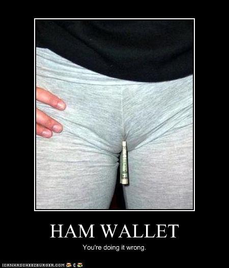HAM WALLET - Cheezburger - Funny Memes