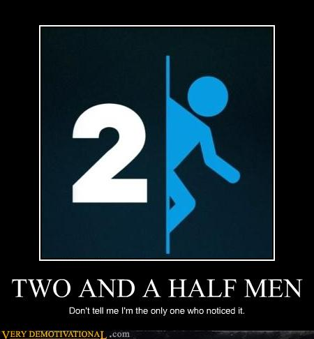 two and a half men logo