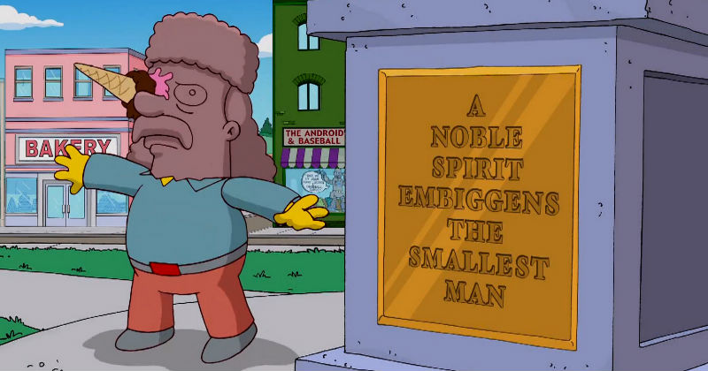 "Simpsons Win! Merriam Webster Adds ""Embiggen"" to the Dictionary"