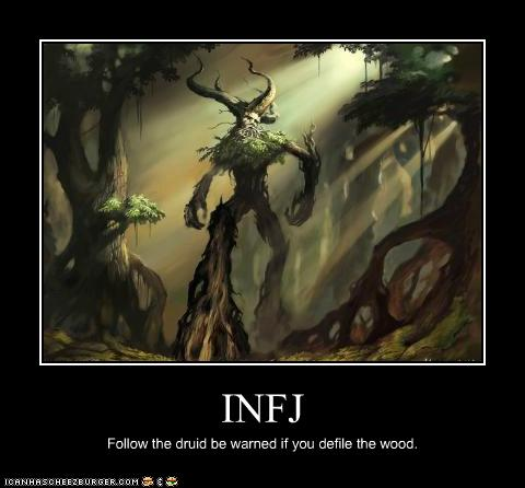 INFJ - Cheezburger - Funny Memes   Funny Pictures