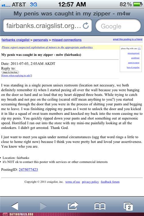 Craigslist Anzeigen für Dating